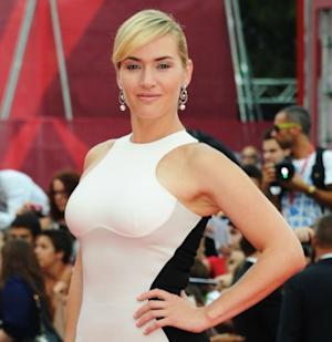 Kate Winslet looks glam at the 'Mildred Pierce' premiere during the 68th Venice International Film Festival at Palazzo del Cinema on September 2, 2011 -- WireImage