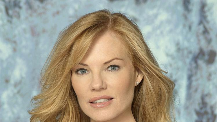 "Marg Helgenberger stars as Catherine Willows in ""CSI: Crime Scene Investigation."""