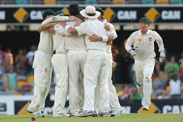 Australia v England - First Test: Day 4