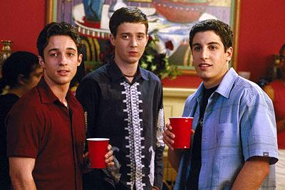 Thomas Ian Nicholas , Eddie Kaye Thomas and Jason Biggs in Universal's American Pie 2