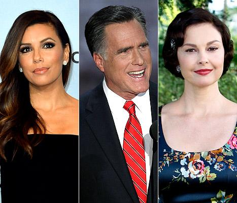 "Mitt Romney's ""47 Percent"" Secret Comments: Celebs React"