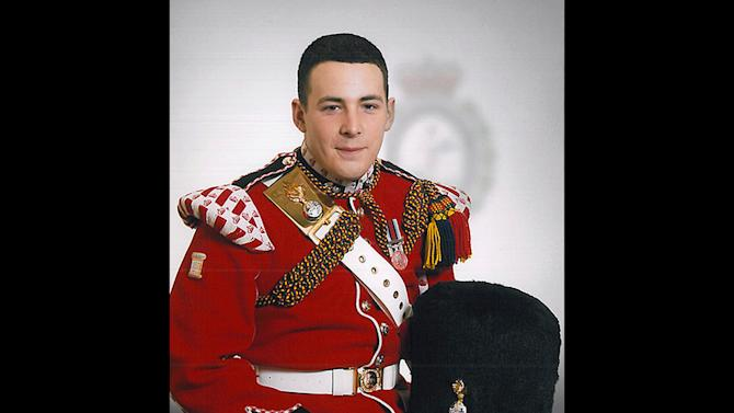 "This undated image provided Thursday May 23, 2013, by the British Ministry of Defence, shows Lee Rigby known as 'Riggers' to his friends. Rigby has been identified by the MOD as the serving member of the armed forces who was attacked and killed by two men in the Woolwich area of London on Wednesday. The Ministry web site included the statement ""It is with great sadness that the Ministry of Defence must announce that the soldier killed in yesterday's incident in Woolwich, South East London, is believed to be Drummer Lee Rigby of 2nd Battalion The Royal Regiment of Fusiliers."" (AP Photo/Ministry of Defence)"