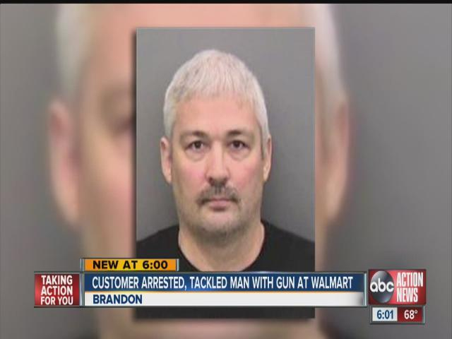 Man assaulted by vigilante at Florida Walmart