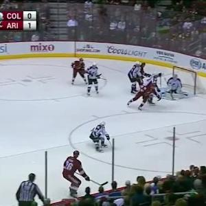 Reto Berra Save on Michael Stone (07:00/1st)
