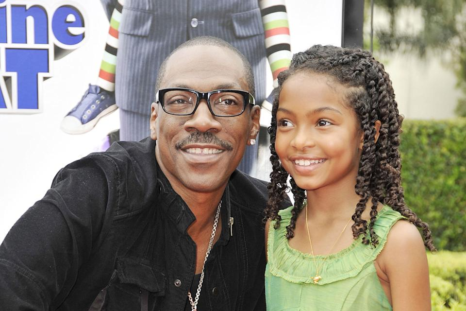 Imagine That LA Premiere 2009 Eddie Murphy Yara Shahidi
