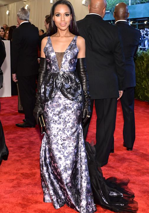 Met Ball 2013: Kerry Washington Vera Wang