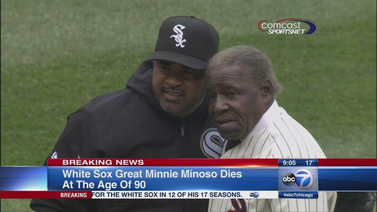 White Sox legend Minnie Minoso dies at 92