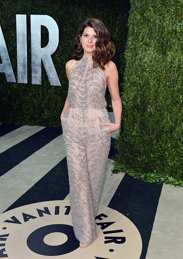 2013 Vanity Fair Oscar Party Hosted By Graydon Carter - Arrivals: Marisa Tomei
