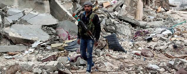 Islamic State fighters admit defeat in Syrian city