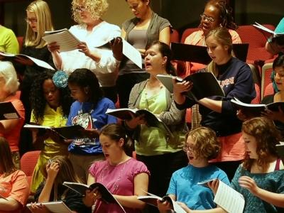 Choir Honors 'Unsung' Civil Rights Heroes