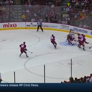 Mike Smith Save on Marcus Foligno (19:26/2nd)