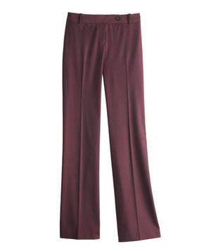 Loft polyester-blend pants
