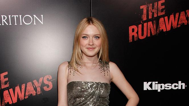 The Runaways LA premiere 2010 Dakota Fanning