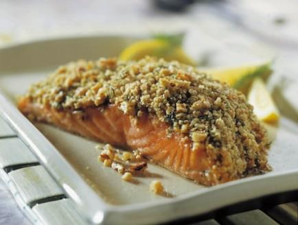 California Walnut-Encrusted Salmon