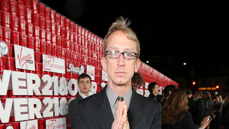 "Andy Dick arrives at the LA premiere of ""21 and Over"" at the Westwood Village Theatre on Thursday, Feb. 21, 2013 in Los Angeles. (Photo by Eric Charbonneau/Invision/AP)"