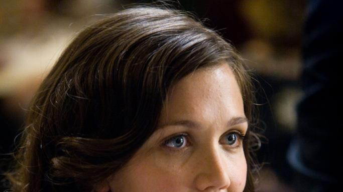 Maggie Gyllenhaal Batman The Dark Knight Production Warner Brothers 2008