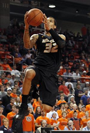 No. 21 Missouri survives scare, 70-68, over Auburn