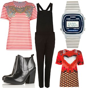 What We're Wearing: Topshop, Casio And Vintage Ralph Lauren