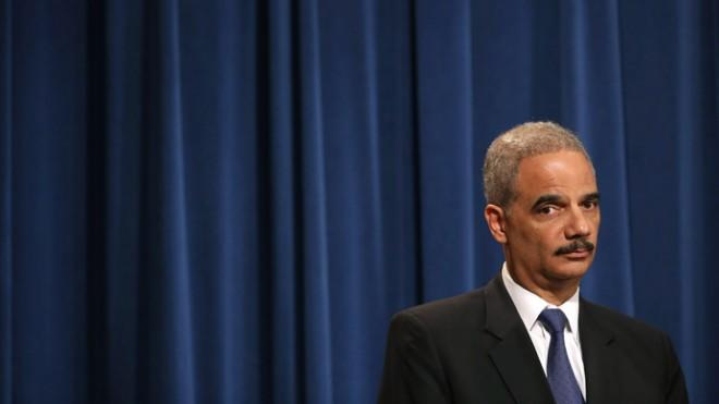 Attorney General Eric Holder said in a news conference on May 14 that he recused himself last year from a national security leak probe that obtained phone records of AP journalists.