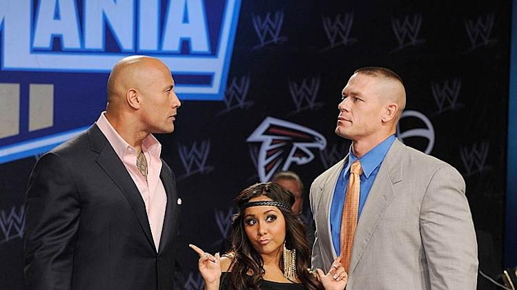 The Rock Snooki Cena Wrestlemania