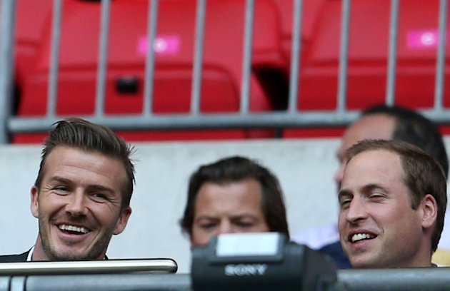 Beckham and William