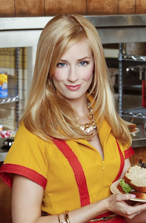 Beth Behrs stars as Caroline Channing in &quot;2 Broke Girls.&quot; 