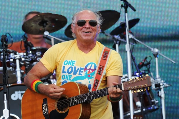 For Christmas Birthday Boy Jimmy Buffett, Who Needs Record Sales ...