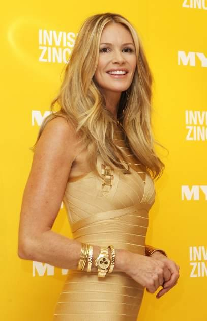 Elle Macpherson is seen at a promotion for Invisible Zinc at Myer in Sydney, Australia on October 21, 2011  -- Getty Images