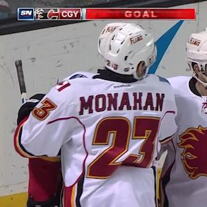 Giordano's power-play goal