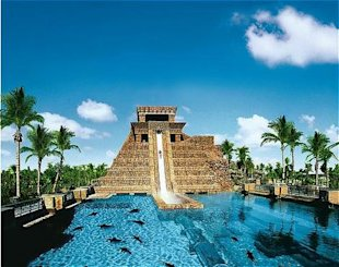 Swim Through Mayan Ruins