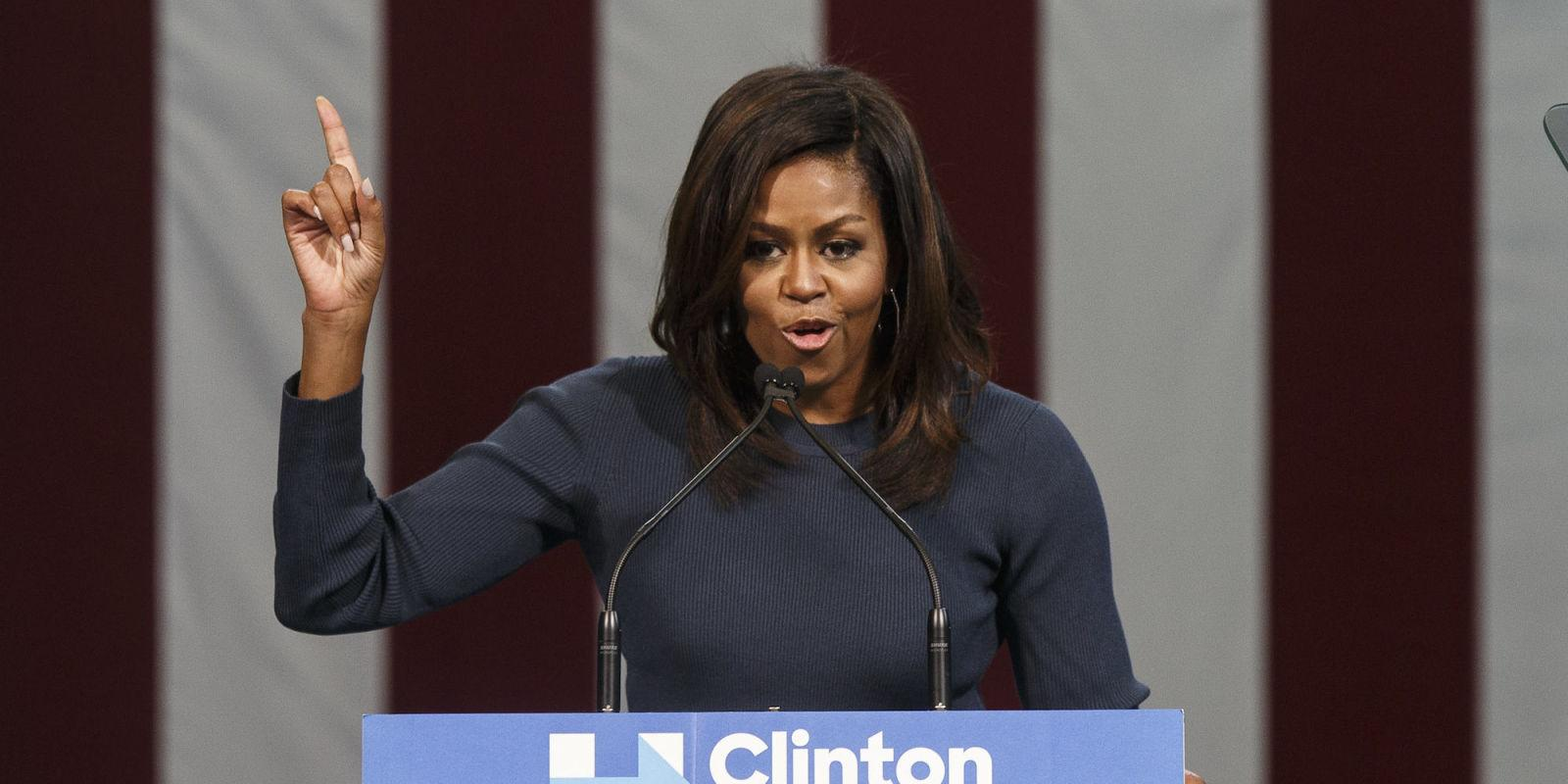 And Here's Michelle Obama Rightfully Putting Donald Trump on Blast Once Again