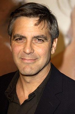 George Clooney at the Hollywood premiere of 20th Century Fox's Solaris