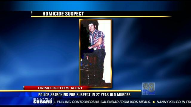 Police searching for suspect in 27 year old murder