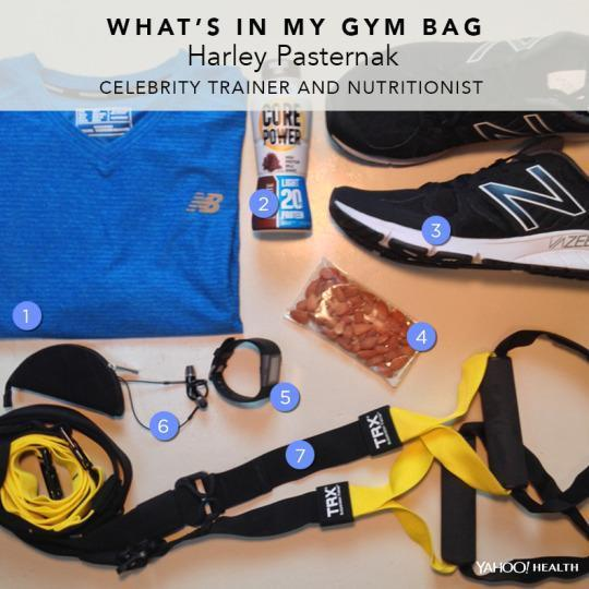 What's In My Gym Bag: Celebrity Trainer Harley Pasternak