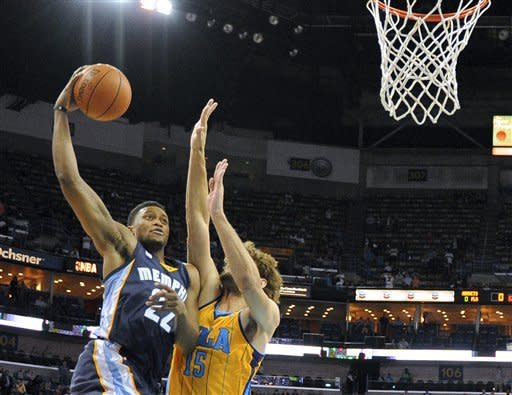 Gay leads Grizzlies past Hornets, 96-89