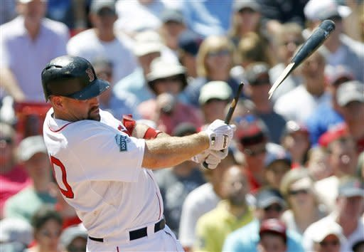 Ross homers twice in Boston's 9-4 win over Braves