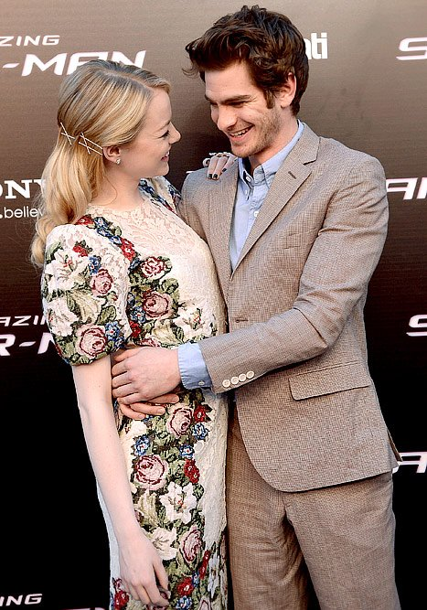 Emma Stone and Andrew Garfield's …