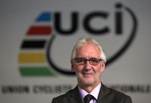 Cookson President of UCI poses in the Federation headquarters in Aigle
