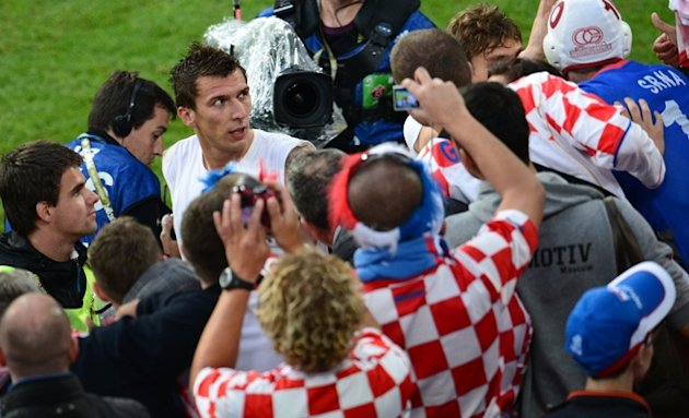Croatian Forward Mario Mandzukic&nbsp;&hellip;