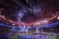 Fireworks light up the sky above the arena during the closing ceremony of the London 2012 Paralympic Games at the Olympic Stadium in east London on September 9, 2012. A string of live rock concerts will be held in London's Olympic Stadium in July, music promoter Live Nation announced, making them the first events in the Olympic Park since the 2012 Games ended