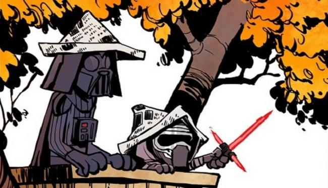 'Star Wars: The Force Awakens' Continues To Be Mashed Up With 'Calvin And Hobbes' And We Love It