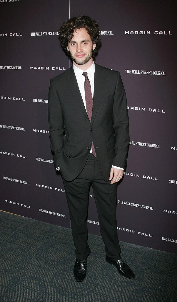 Margin Call NY Premiere 2011 penn Badgley