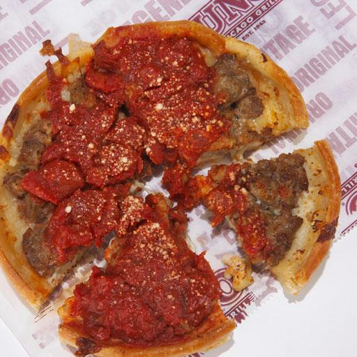 Worst for you: Uno Chicago Grill's Deep Dish Individual Pizza