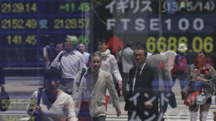 Asia stocks mixed as Wall St. ignores euro gloom
