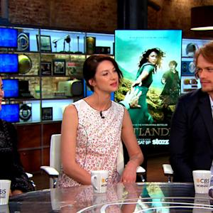 """Outlander"" author and actors on transition from books to TV series"