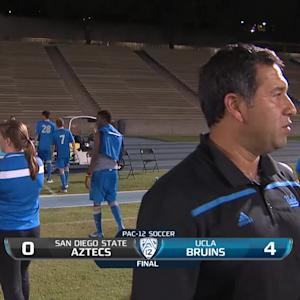 Recap: UCLA men's soccer uses quick barrage to top San Diego State