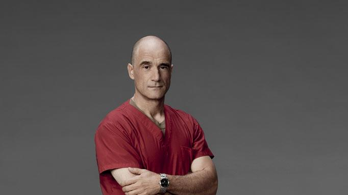 "Elias Koteas stars as Colonel Marks in ""Combat Hospital."""