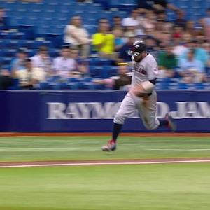 Brantley's RBI single