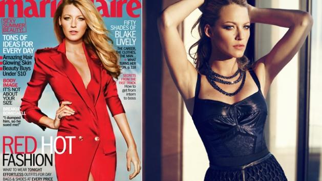 Blake Lively in Marie Clare, July 2012 -- Marie Claire