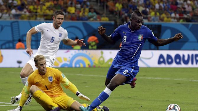 Balotelli making the most of his first World Cup